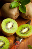 Fresh ripe kiwi Stock Images