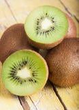 Fresh ripe kiwi Royalty Free Stock Images