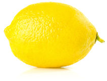 Fresh ripe lemon Royalty Free Stock Images