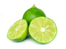 Fresh ripe lemon. Stock Image