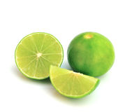 Fresh ripe lime Stock Images