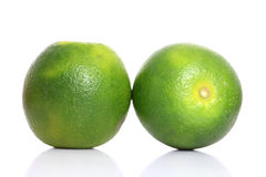 Fresh ripe lime Stock Photos