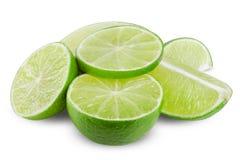 Fresh ripe lime Royalty Free Stock Photos