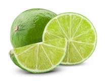 Fresh ripe lime Royalty Free Stock Photo