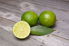 Fresh ripe limes Royalty Free Stock Photography
