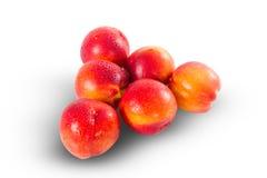 Fresh ripe nectarines Royalty Free Stock Photography