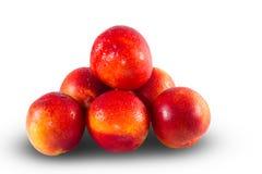 Fresh ripe Nectarines Royalty Free Stock Photo