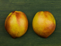 Fresh Ripe Nectarines or Peaches Royalty Free Stock Photography