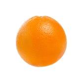 Fresh ripe orange fruit isolated on white background with clippi Royalty Free Stock Photography