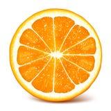Fresh ripe orange Royalty Free Stock Photo
