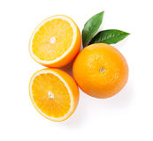 Fresh ripe oranges Royalty Free Stock Image