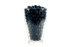 Fresh ripe organic bilberries Royalty Free Stock Photography