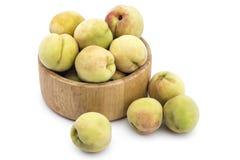 Fresh organic peaches. Åeftelija royalty free stock photography