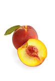 Fresh ripe peach Royalty Free Stock Images