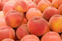 Fresh Ripe Peaches Royalty Free Stock Photos