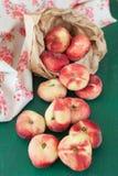 Fresh ripe peaches Royalty Free Stock Image