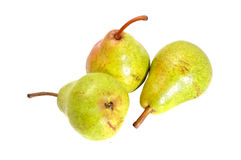 Fresh ripe pear Stock Photos