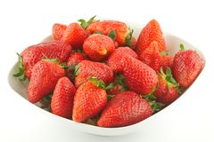 Fresh Ripe Perfect Strawberry Royalty Free Stock Photo