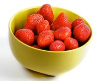 Fresh Ripe Perfect Strawberry Stock Photos