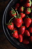 Fresh ripe perfect strawberry Royalty Free Stock Image