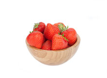 Fresh ripe perfect strawberry. Royalty Free Stock Images