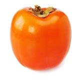 Fresh ripe persimmon isolated on white background. Stock Image