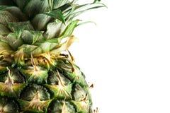 Fresh ripe pineapple. Isolated on white background. Fresh fruits Royalty Free Stock Image