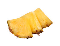 Fresh ripe pineapple slices Royalty Free Stock Photography