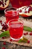 Fresh ripe pomegranate Stock Photography