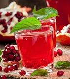 Fresh ripe pomegranate Stock Photo