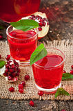 Fresh ripe pomegranate Stock Photos