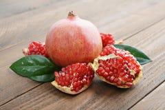 Fresh ripe pomegranate Royalty Free Stock Photo