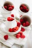 Fresh ripe raspberries Royalty Free Stock Photo
