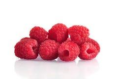 Fresh ripe raspberry Stock Image