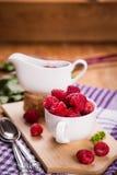 Fresh ripe raspberry Royalty Free Stock Image