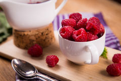 Fresh ripe raspberry Royalty Free Stock Photography