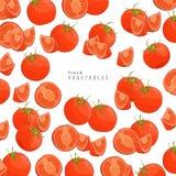 Fresh tomatoes background Royalty Free Stock Image