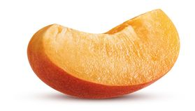 Fresh ripe slice apricot Royalty Free Stock Images