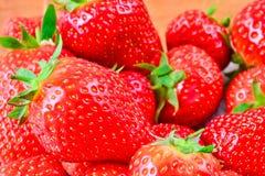 Fresh ripe strawberries Royalty Free Stock Images