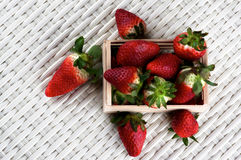 Fresh Ripe Strawberries Stock Image