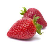 fresh ripe strawberries Stock Photo