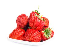 Fresh ripe strawberries Royalty Free Stock Images