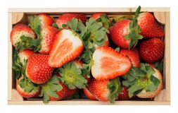 Fresh ripe strawberry Stock Photo