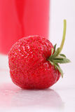 Fresh ripe strawberry. Fresh sweet juicy red strawberry royalty free stock images