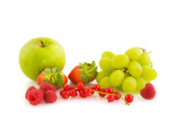 Fresh ripe summer fruit Stock Image