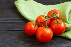 Fresh, ripe tomatoes Royalty Free Stock Images