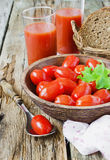 Fresh ripe tomatoes Royalty Free Stock Images
