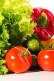 Fresh ripe vegetables Stock Images
