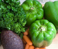 Fresh ripe vegetables Royalty Free Stock Photography
