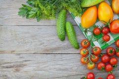 Fresh ripe vegetables Royalty Free Stock Photo